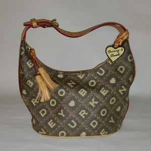 AUTHENTIC DOONEY & BOURKE CROSSWORD COLLECTION BAG